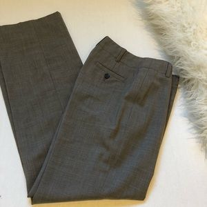 Banana Republic Taupe Work Trousers Contoured Fit